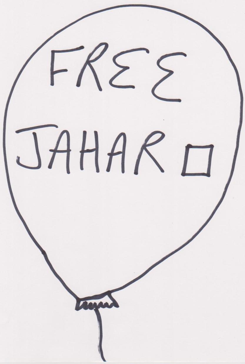 Free Jahar Balloon